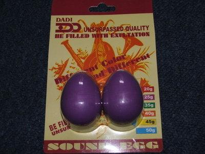 Ritme-eieren (zonder steel)