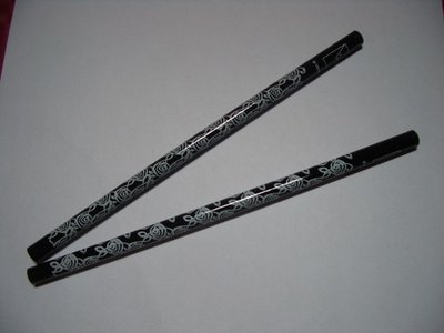 Potloden wit/zwart