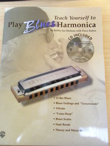 Teach yourself to play Bluesharmonica